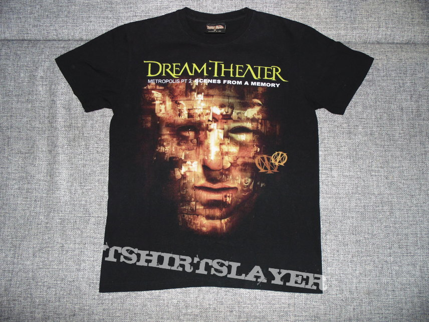 Maanelyst S Dream Theater Dream Theater Metropolis Pt 2 Scenes From A Memory Tshirt Or Longsleeve Tshirtslayer