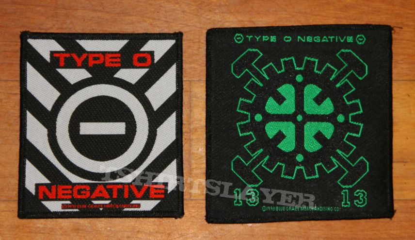 Type O Negative - Patches 1991 & 1993