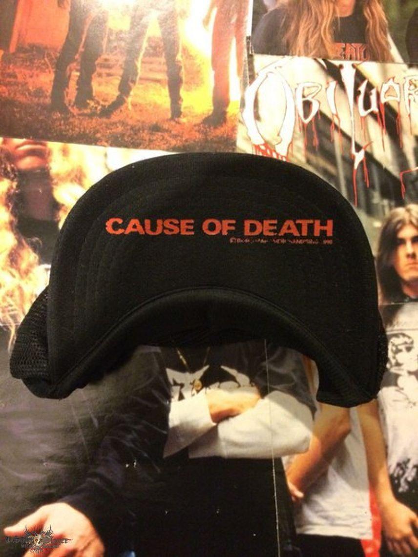 Obituary - Cause Of Death cap