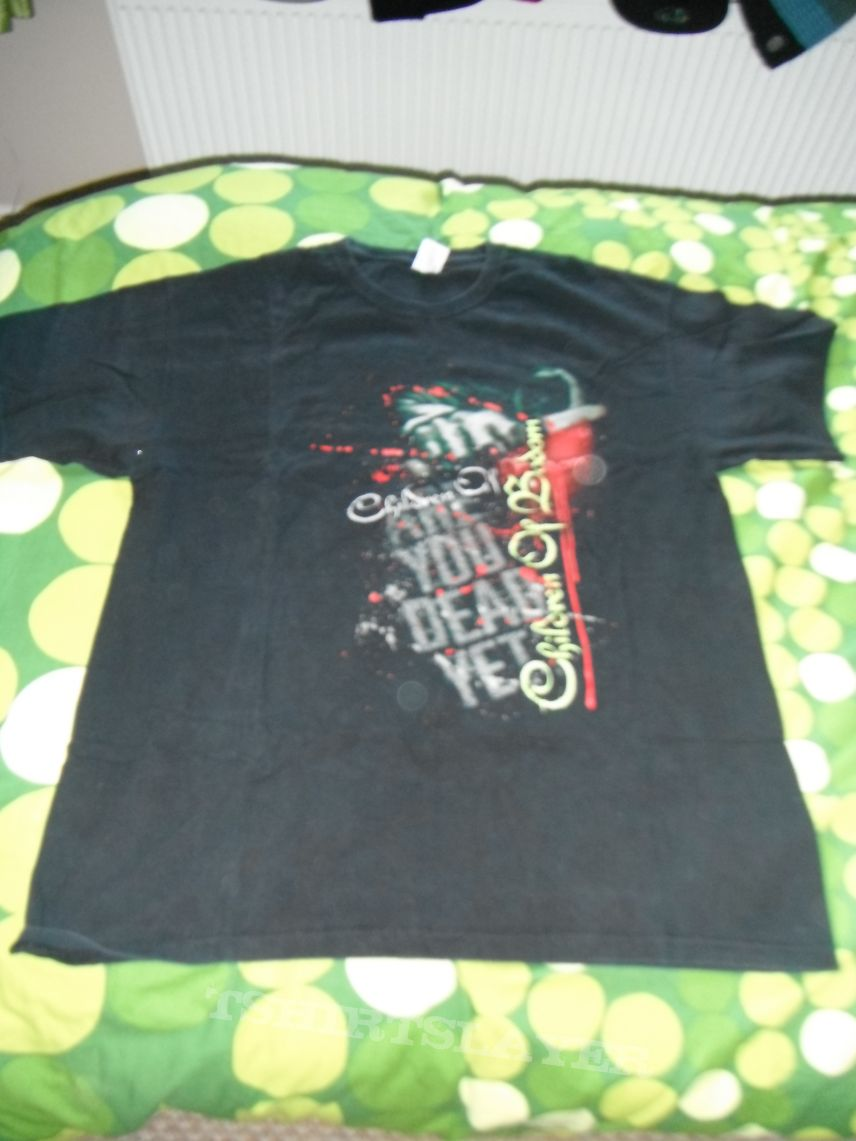Children Of Bodom Are You Dead Yet T shirt Size XL