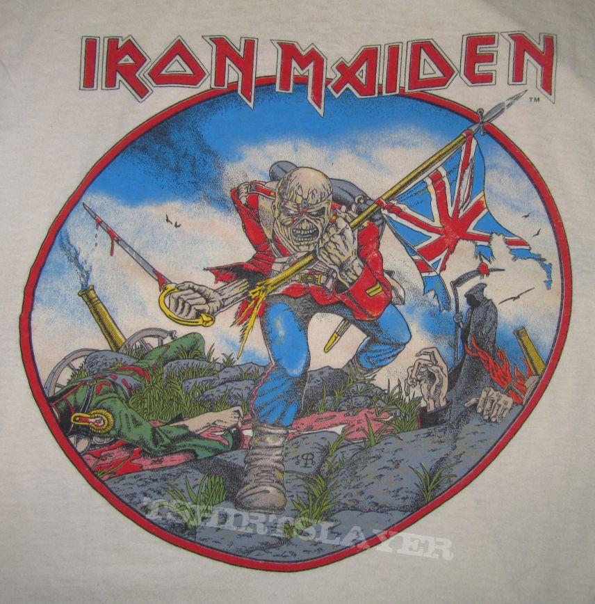 Iron Maiden World Piece Tour  T Shirt