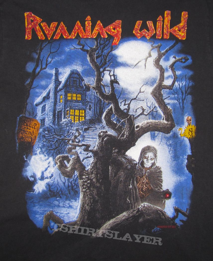 RUNNING WILD Black Hand Inn Long-sleeve Tour 94