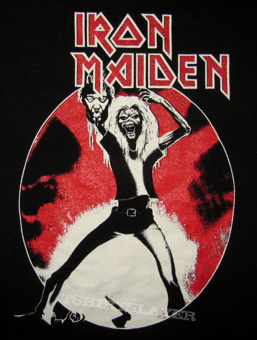 IRON MAIDEN Maiden Japan Venezuelan Bootleg T-shirt