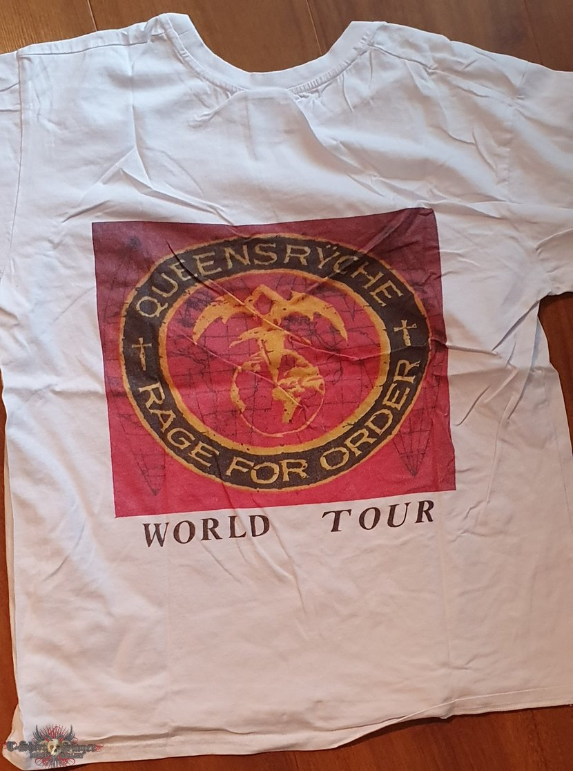 Queensryche - Rage for order - bootlet shirt from the tour with Ozzy Osbourne