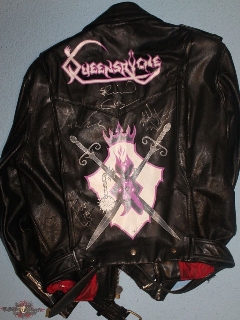 Queensryche - EP - handpainted leather jacket