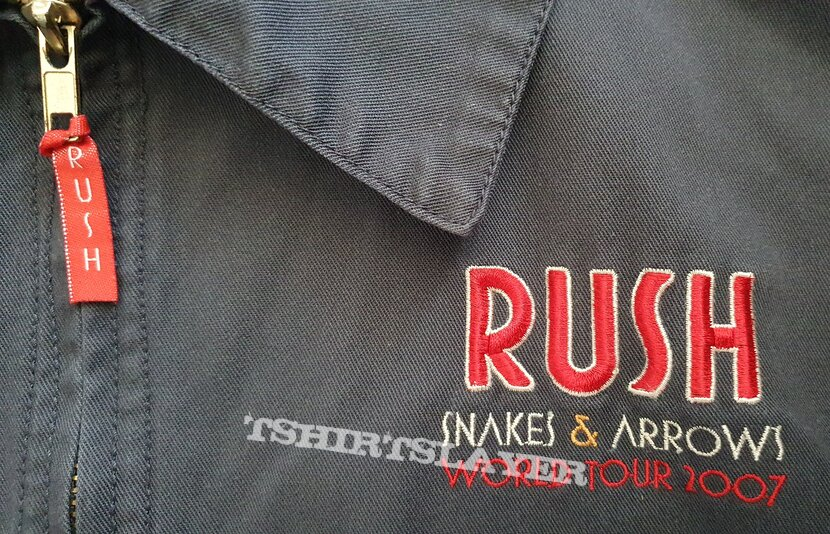 Rush - Snakes and arrows tour - official tour jacket