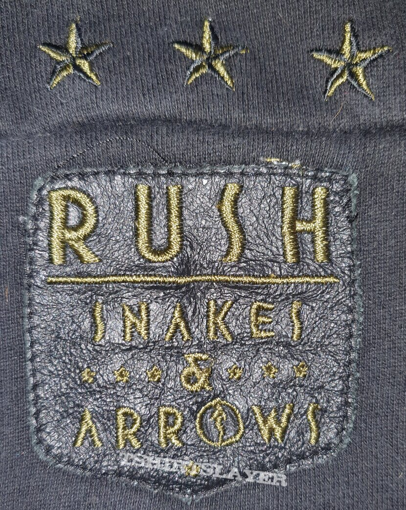 Rush - Snakes and arrows tour - official zipped jacket