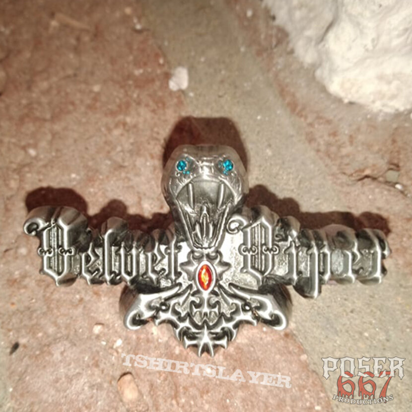 Velvet Viper 3D Pin
