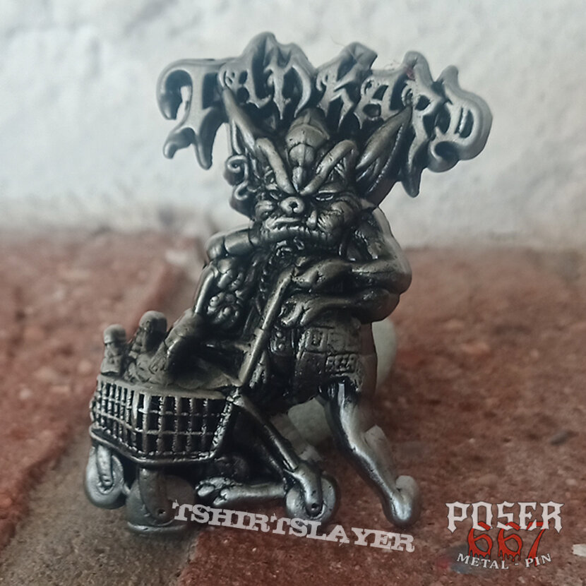 Tankard 3D Pin - one foot in the grave