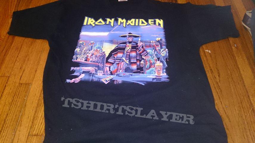 Iron Maiden Stranger In Mexico T Shirt Mexican Irotsst446754