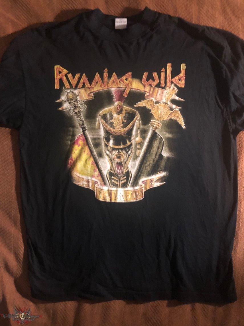 Running Wild - Rivalry Tour 1998 Shirt