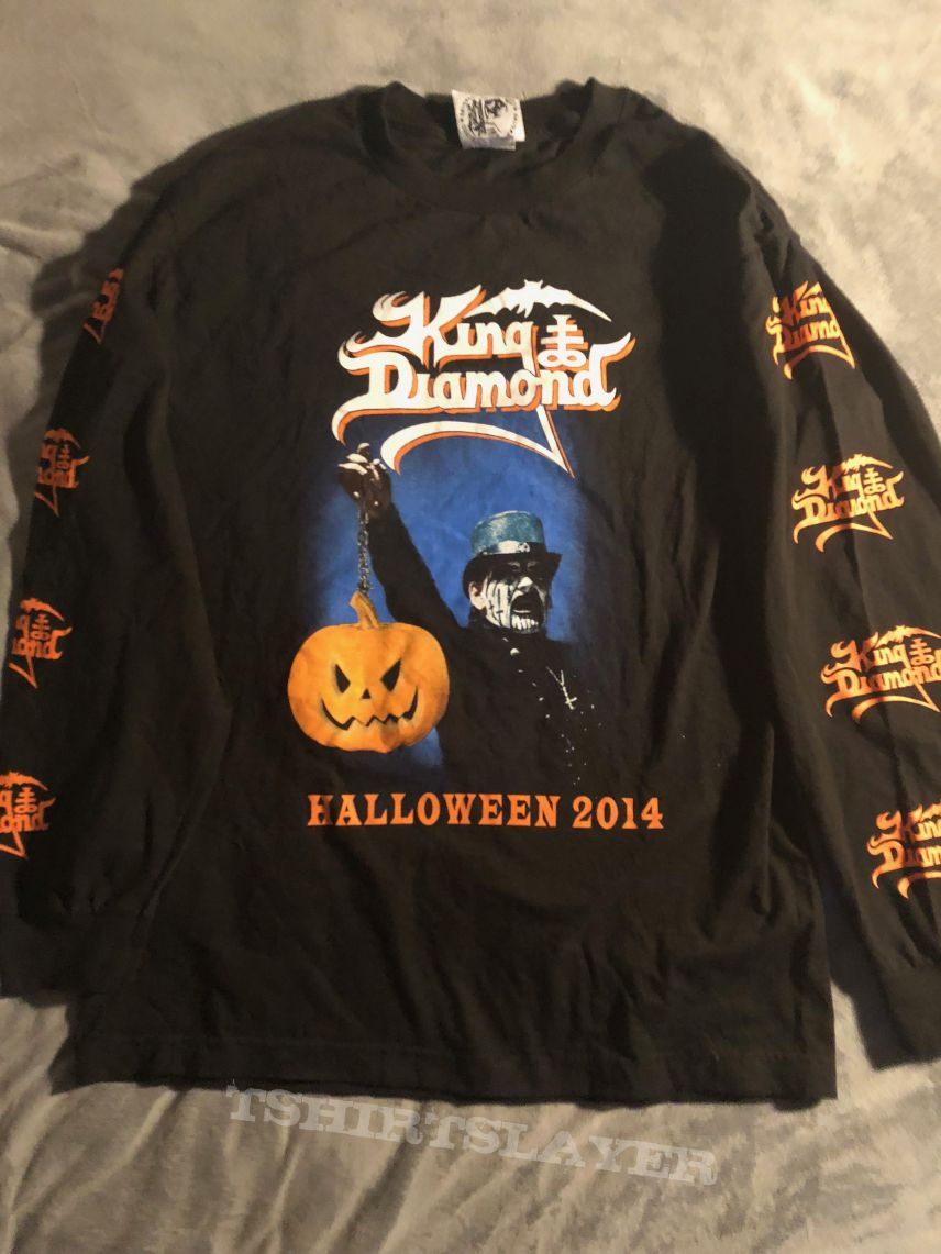 King Diamond Halloween 2014 Tour Longsleeve