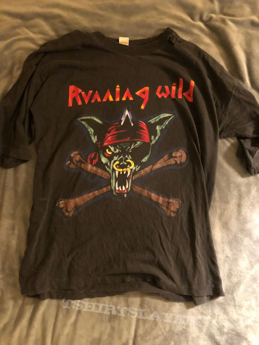 Running Wild Death or Glory Tour Shirt