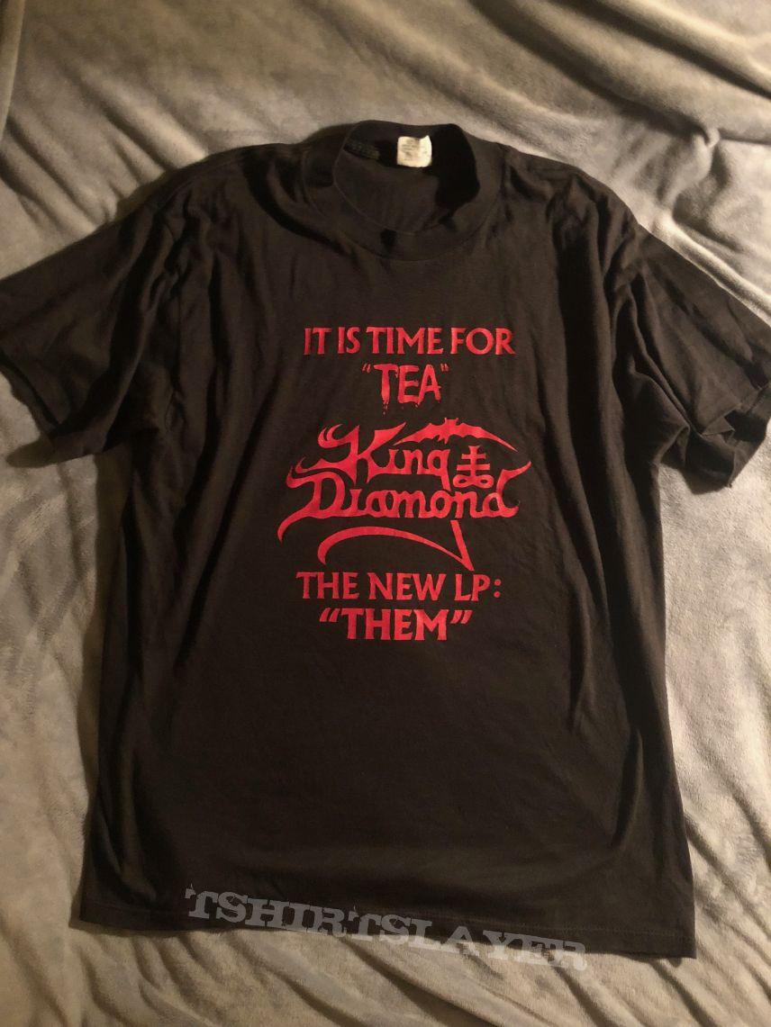 King Diamond Them Promo Shirt