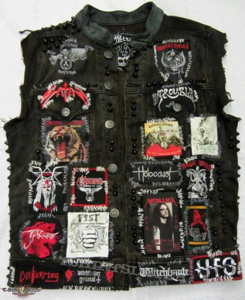 Denim jacket patches men