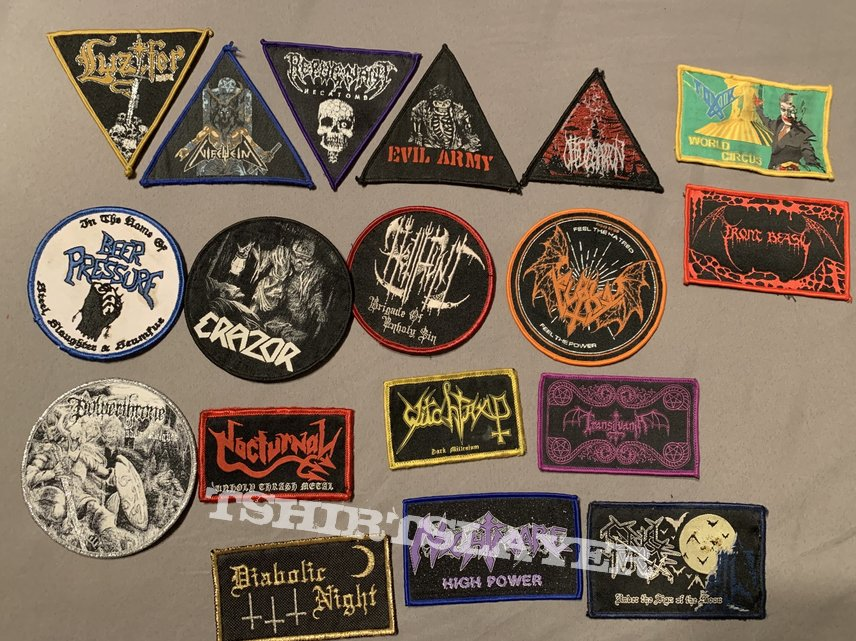 My patch collection