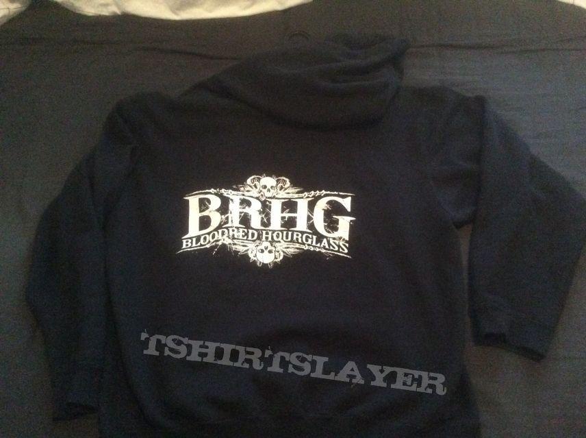 Bloodred Hourglass hoodie