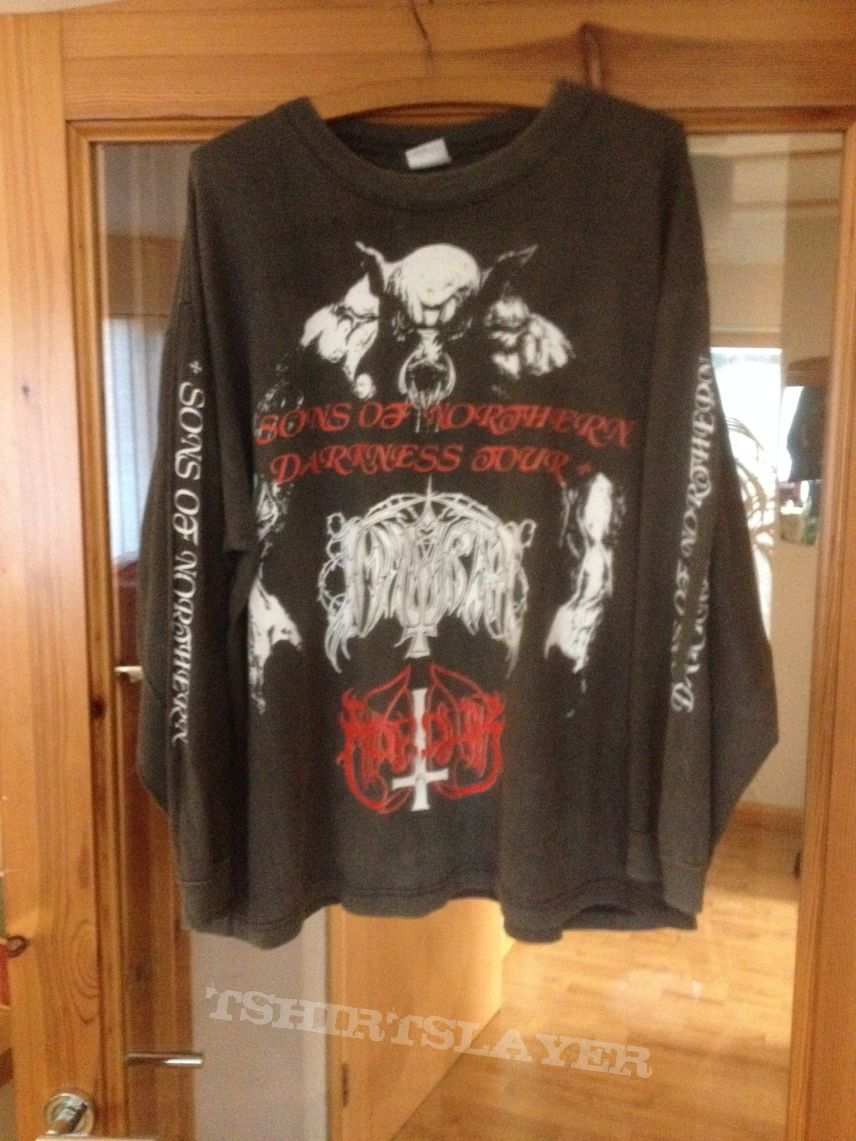 Immortal, Marduk - Sons Of Northern Darkness Tour shirt