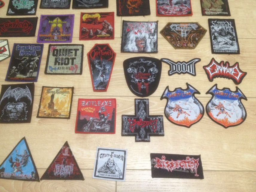 Lots of patches.
