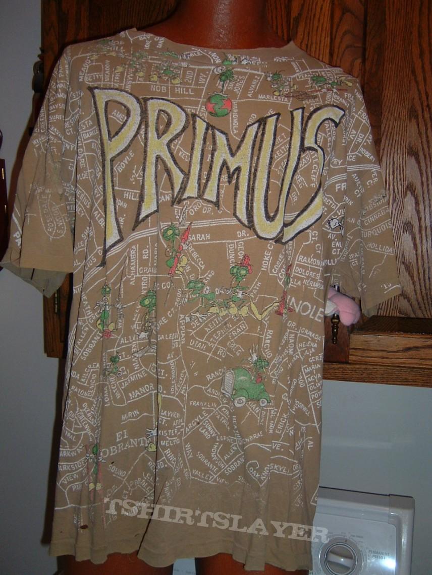 TShirt or Longsleeve - Primus - map
