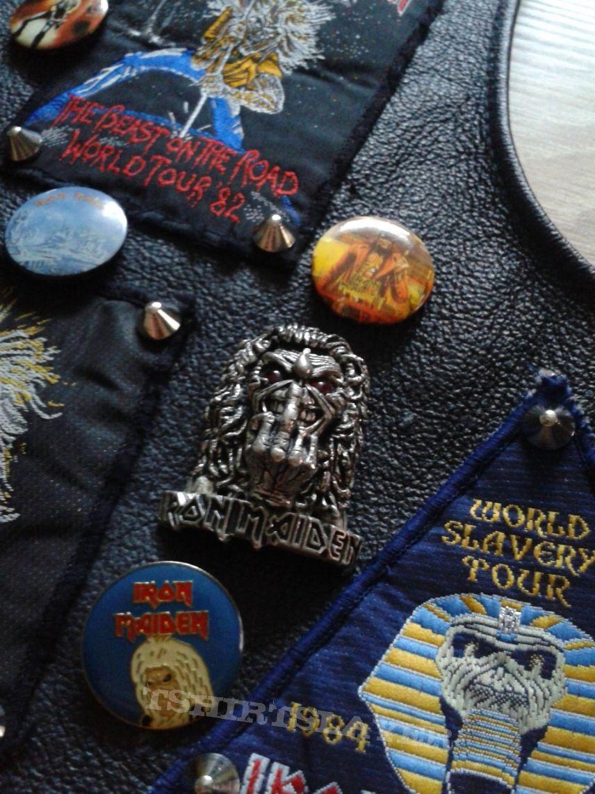 Battle Jacket - Iron Maiden Leather Vest