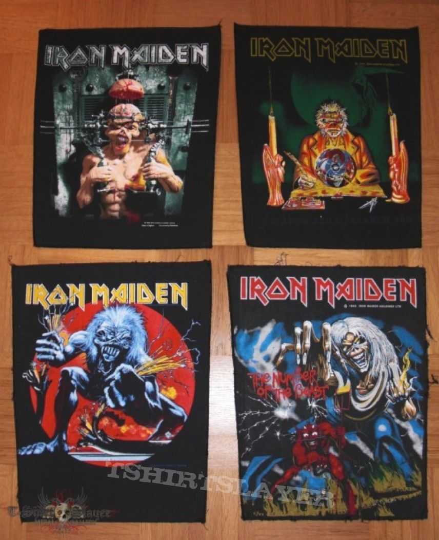 Patch - Original Iron Maiden Backpatches