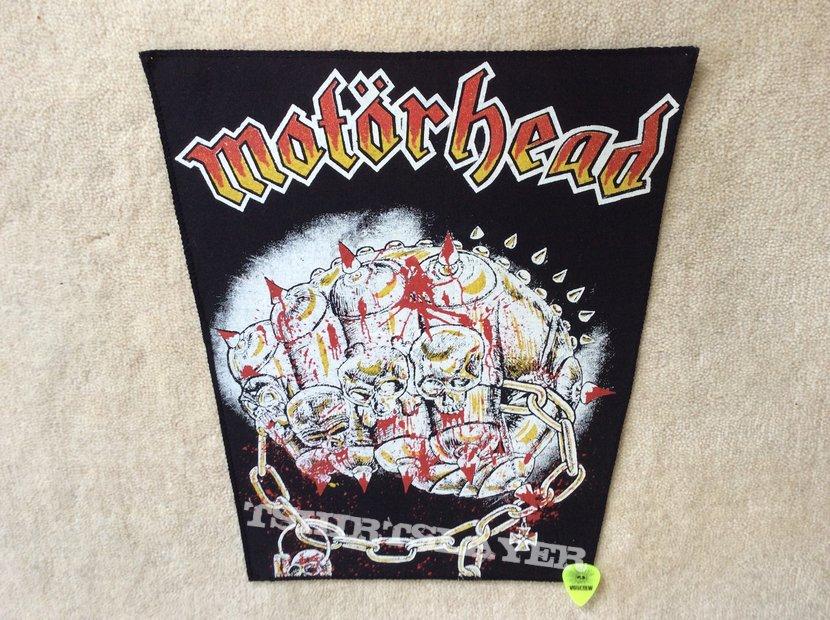 Motörhead - Iron Fist - Vintage Backpatch