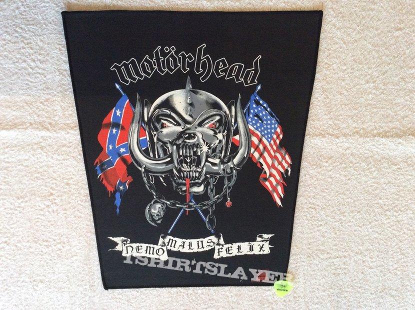 Motörhead - Nemo Malus Felix - 1991 Motörhead - Tronseal - Backpatch