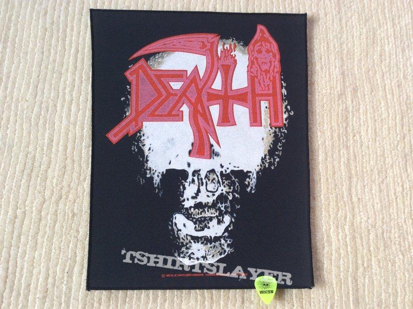 Death - Individual Thought Patterns - 1993 Blue Grape Merchandising - Razamataz - Back Patch
