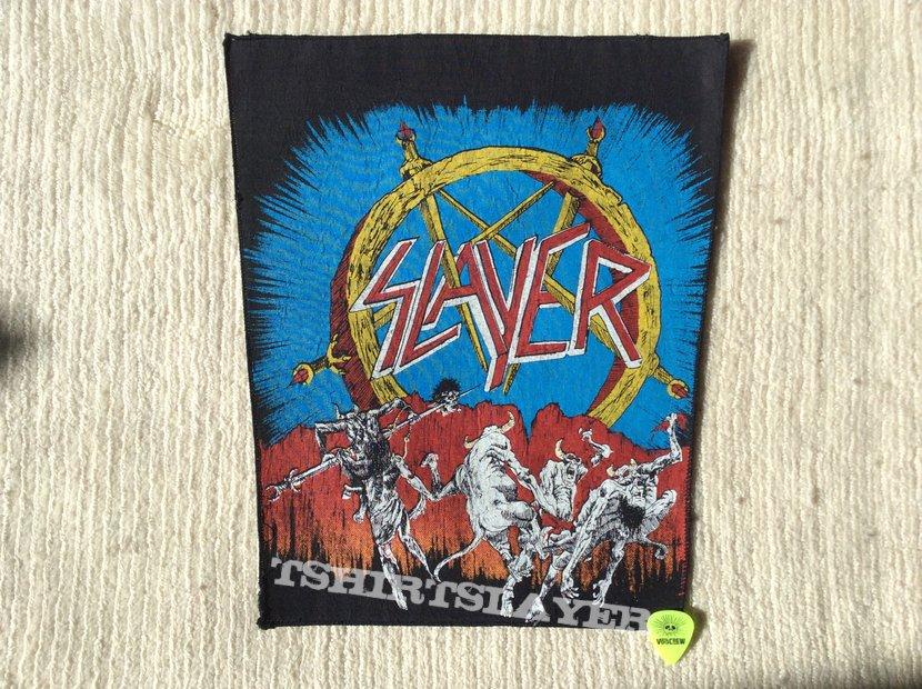 Slayer - Hell awaits - Long Version - Back Patch