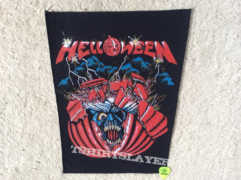 Helloween - First EP - Starlight - Vintage Back Patch