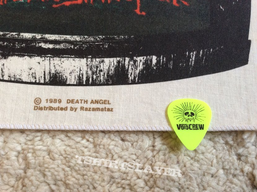 Death Angel - Frolic Through The Park - 1989 - Back Patch - Razamataz