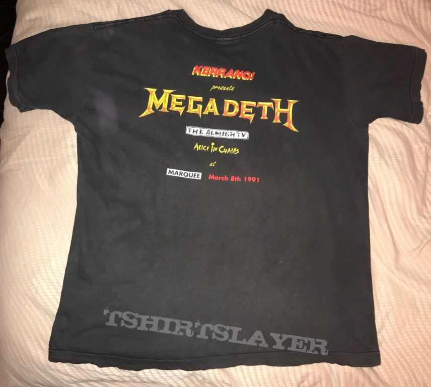 Megarare Megadeth  shirt