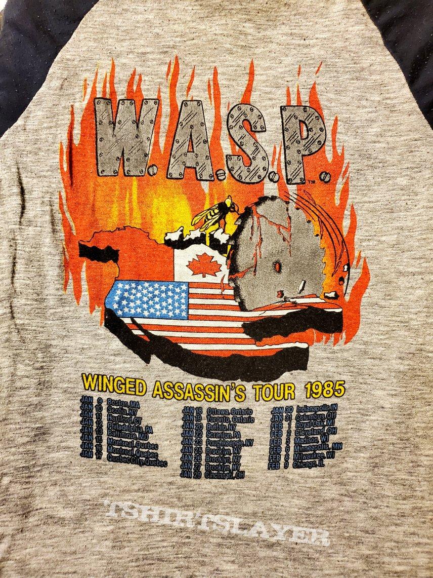 W.A.S.P. Winged assassins tour Jersey 1985