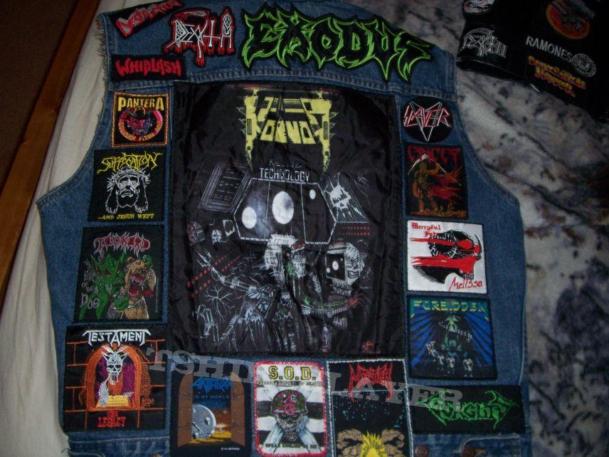 Thrash Vest With Voivod Back Patch Tshirtslayer Tshirt