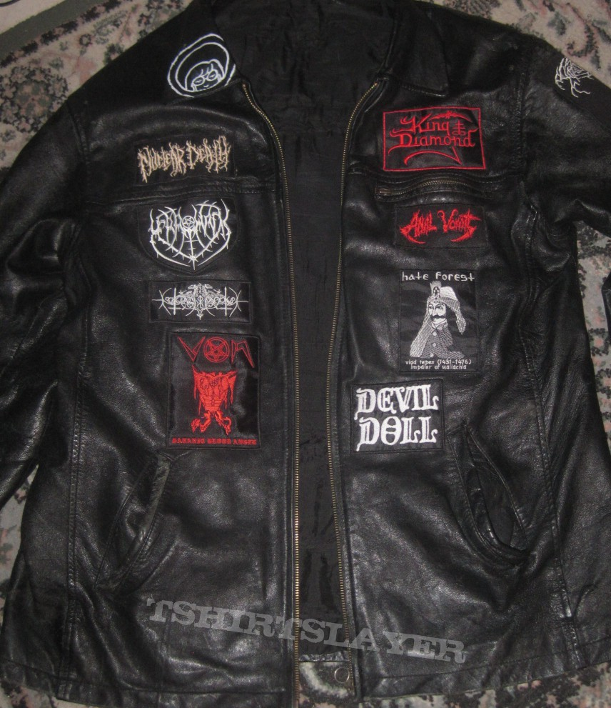 Battle Jacket - Old Leather jacket revamped.