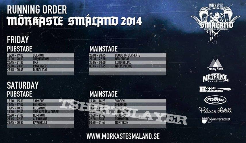 Mörkaste Småland - 2014
