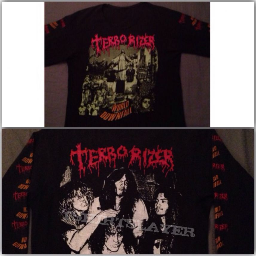 Terrorizer - World Downfall longsleeve 1990