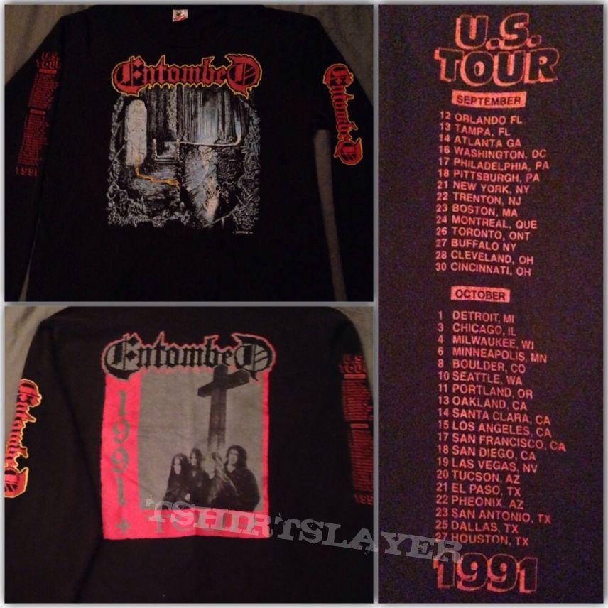 Entombed - Left Hand Path US tour shirt 1991
