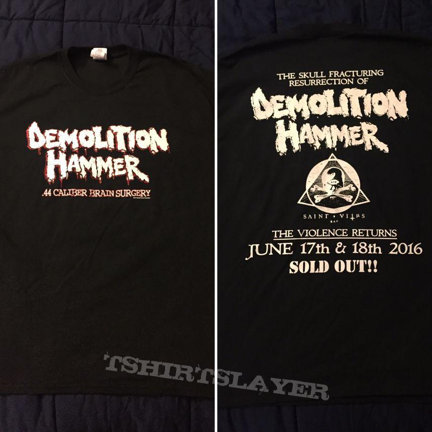 Demolition Hammer SOLD OUT shirt