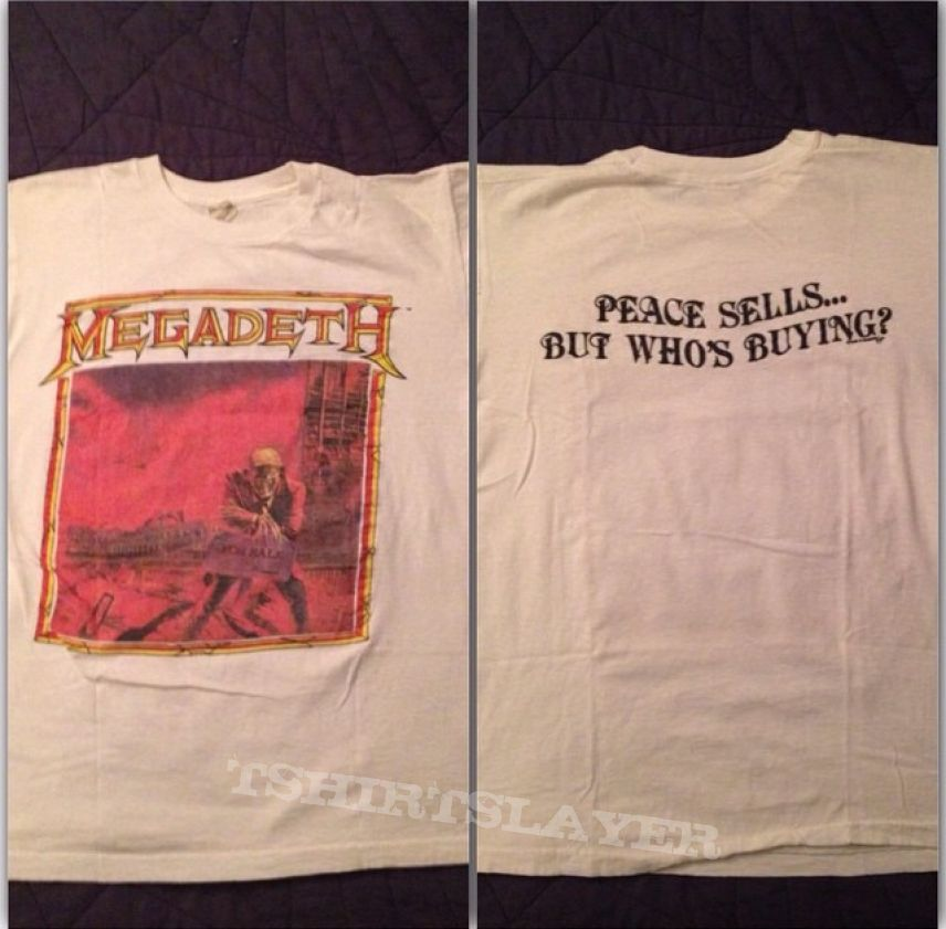 Megadeth - Peace Sells... But Who's Buying? 1986