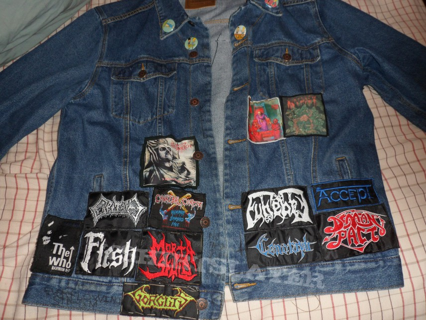 Battle Jacket - my battlejacket \\m// work in progress (updated)