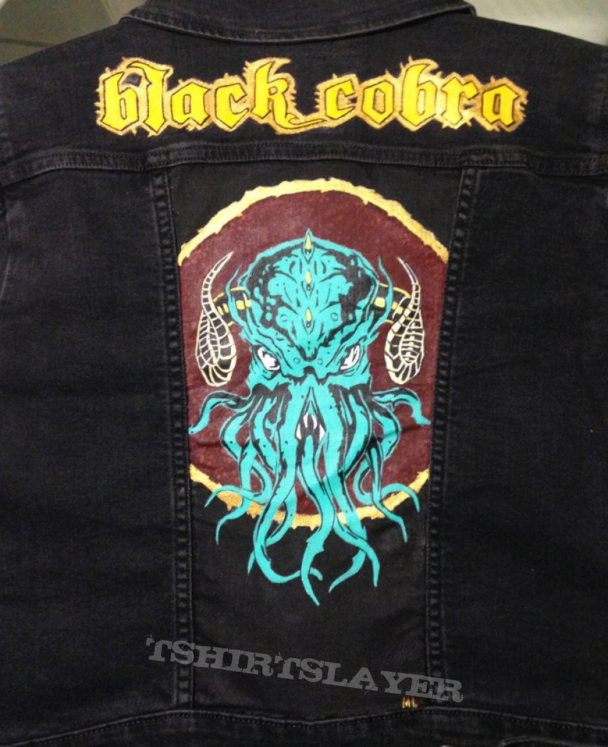 Black Cobra - Painted Denim Jacket