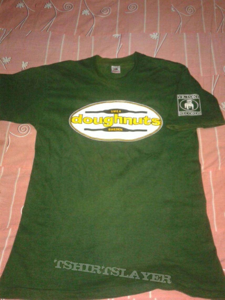 c1d359b1 Doughnuts - Logo Victory Records T-Shirt | TShirtSlayer TShirt and ...
