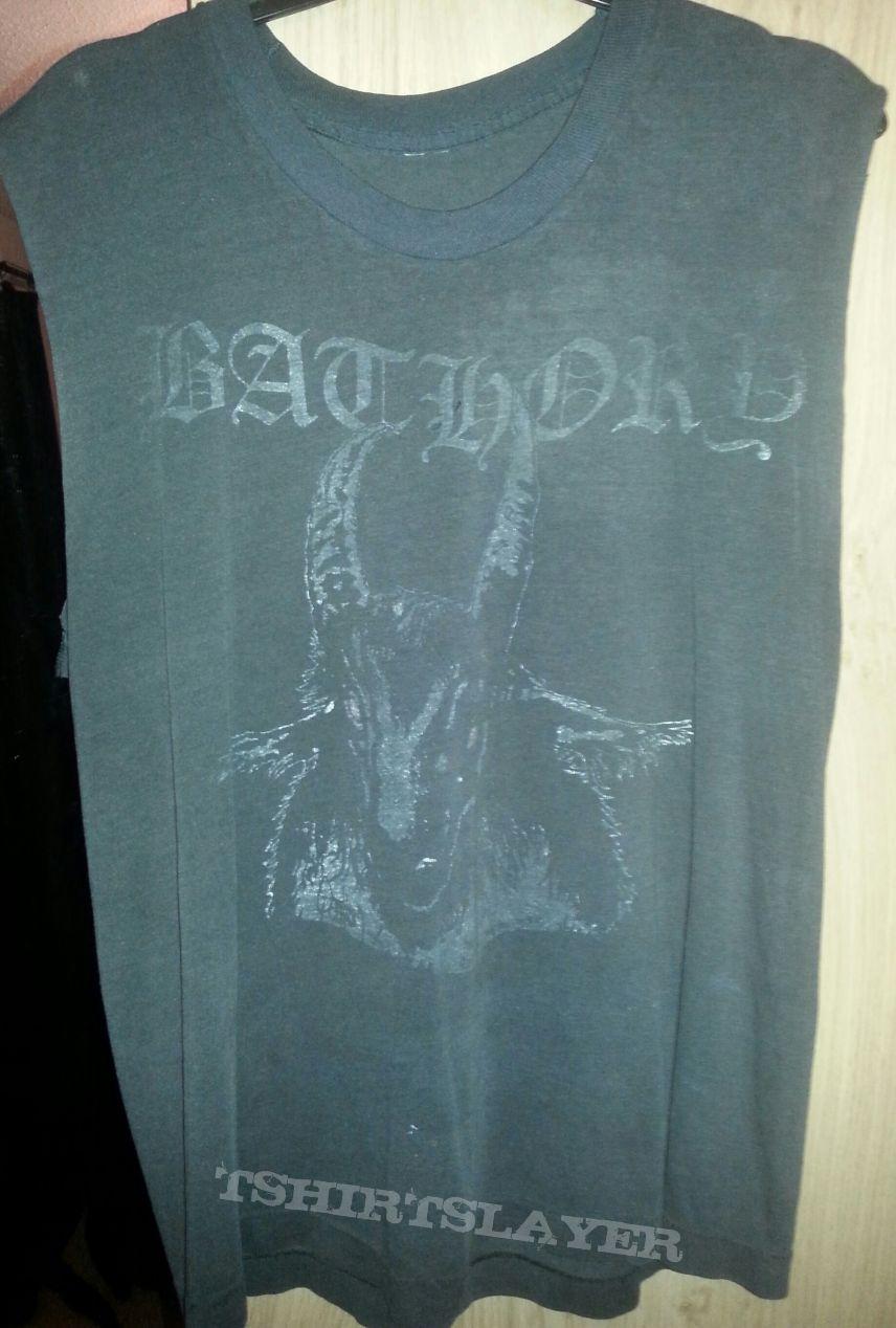 The Original first Bathory double sided shirt