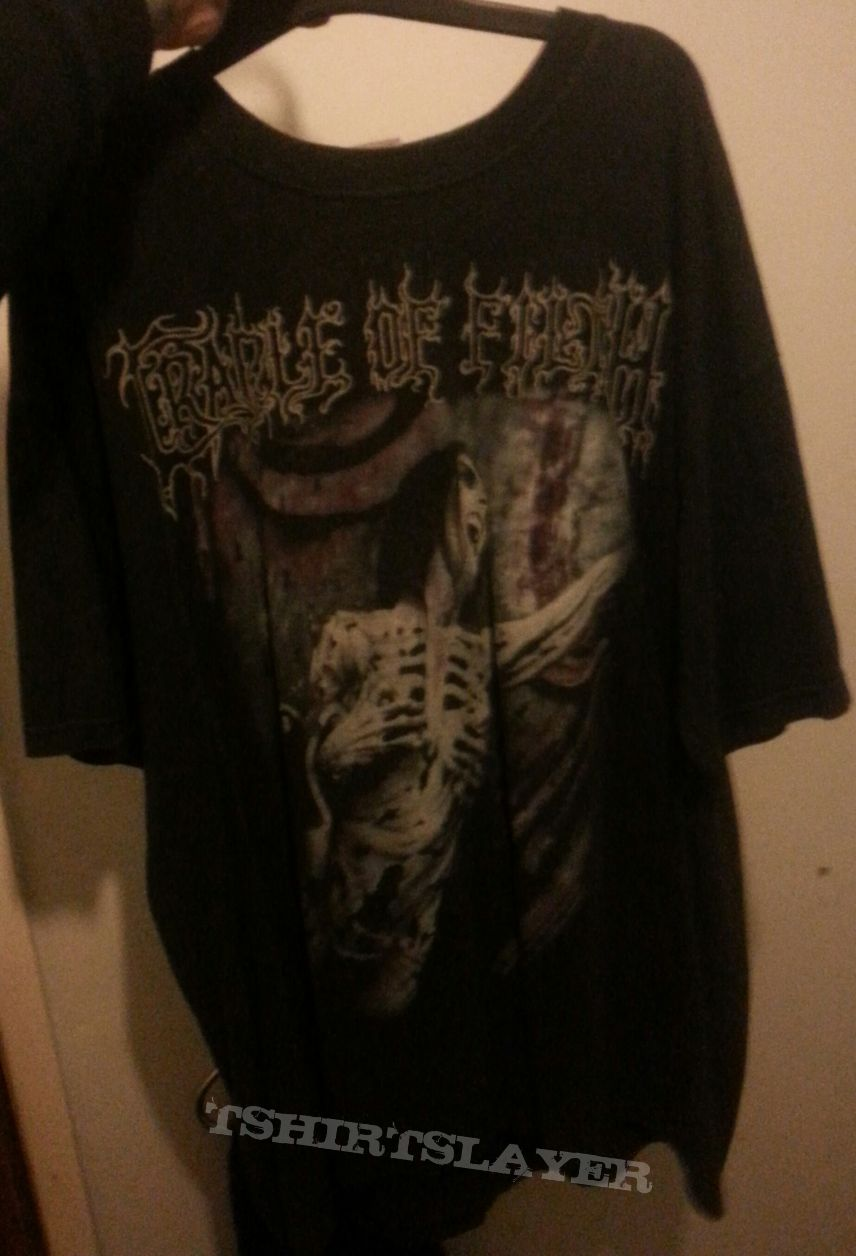 Cradle of Filth Total Fucking Darkness t-shirt