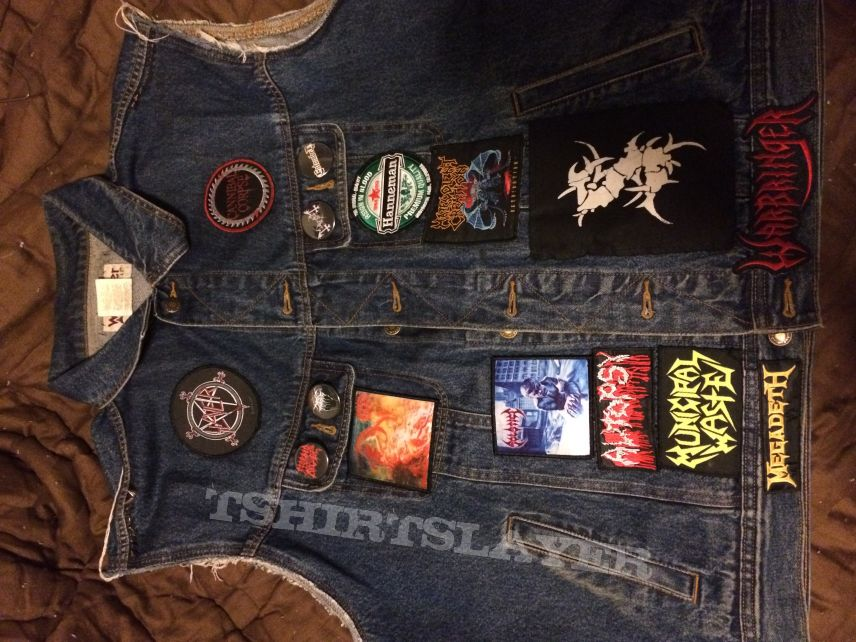 My Battle jacket AS IS. Still need to add a lot more patches