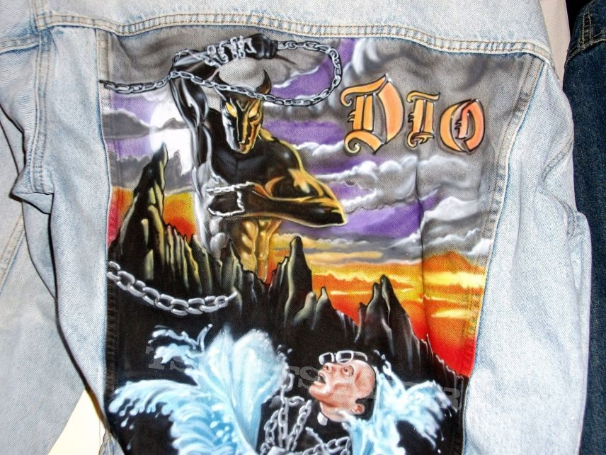 Holy Diver painting