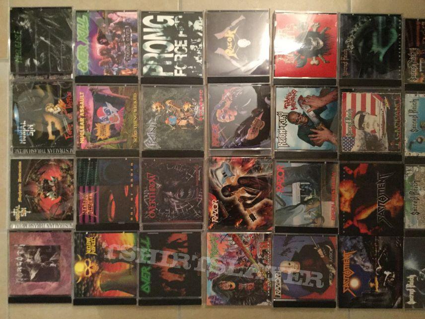 My rare Metal CDs