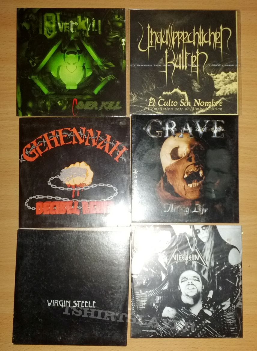 some promo discs